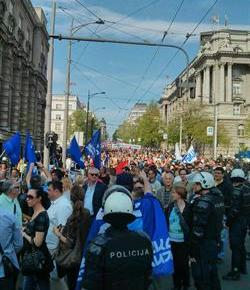 Aleksandar Mitic: Serbian Opposition to EU DealGrows