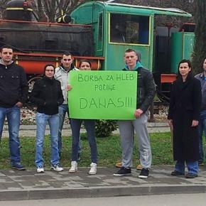 Омладина Костолца: Борба за хлеб почињеданас
