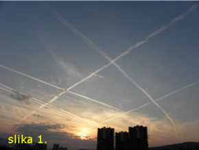 Таман су ме били убједили да сам параноик, кад се на небу појави авион крив за све оветрагове…