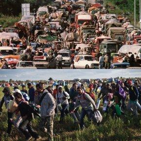 10 РАЗЛОГА ЗАШТО МИГРАНТИ нису као српскеизбеглице