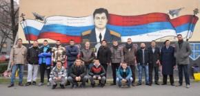 Нови Сад: Руска телевизија известила о муралу руског пилота Олега ког су турциоборили